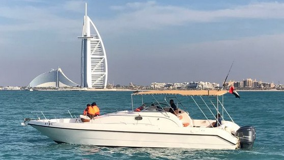 Dubai open cruiser